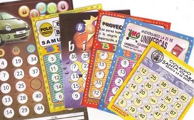 Cartones Para Bingo